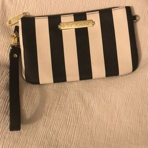 Betsey Johnson hand clutch charging port for phone